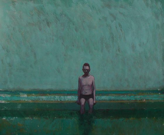 Contemporary Glasgow Artist Stuart Buchanan 'Works on Water': Image 0