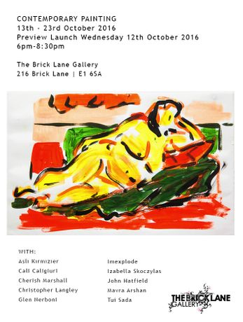 Contemporary Painting 13th – 23rd October 2016: Image 0