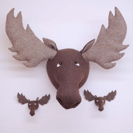 Mr Moose Head, Large and Small, Laura Mirjami