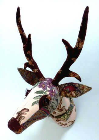 'Young Patchwork Deer 4' by Corrine Young