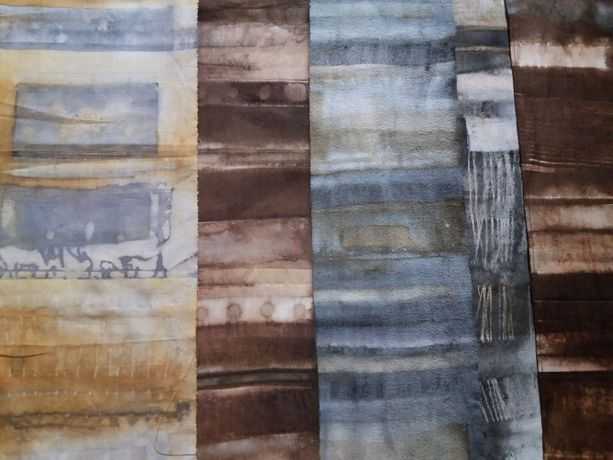 Continuation Eco-Printing with Lizzie Godden: Image 1