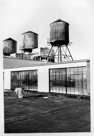 Nicholas Hopkins, Water tanks, Starrett Lehigh Building, New York