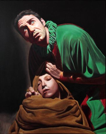 Rigoletto - 2011 - Oil on canvas - 80 x 100 cm