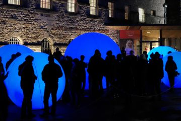 Images from the Colony, a collaboration between visual artists Mike Blow and Alison Ballard, and displayed last year at Crewe Market Square