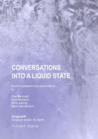 Conversations into a liquid state: Image 0