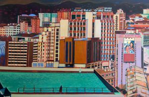 Corn Shuk Mei Ho Solo Show - Night Swims 2020