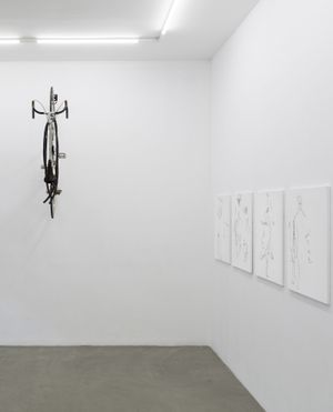 Corrado Levi, Arte come differenza, 2017, installation view at RIBOT gallery