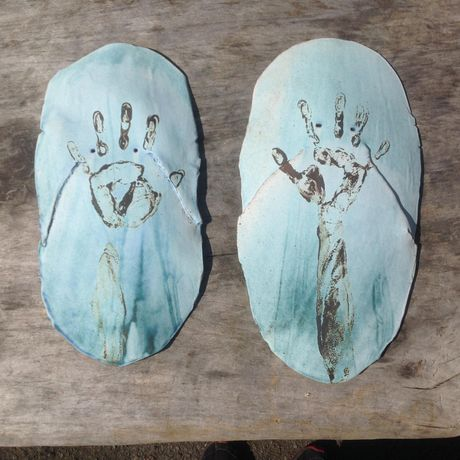 Corrine Edwards Handprint Masks