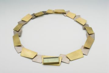 Articulated necklace by Daphne Krinos