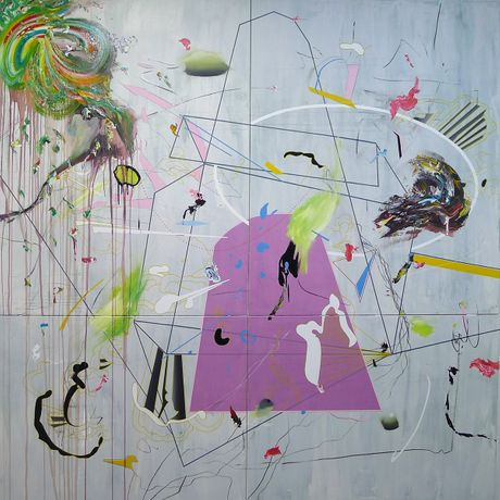 Cosmotropical - New Paintings by Tiago Lisboa: Image 0
