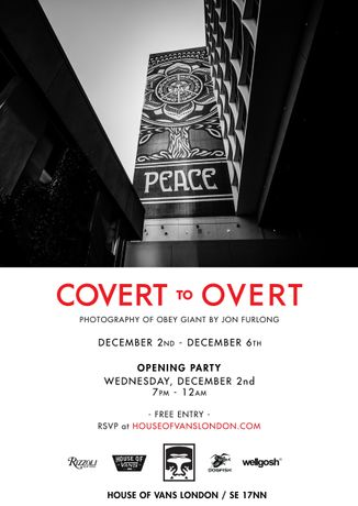 Covert to Overt. Photography of Obey Giant by Jon Furlong: Image 0