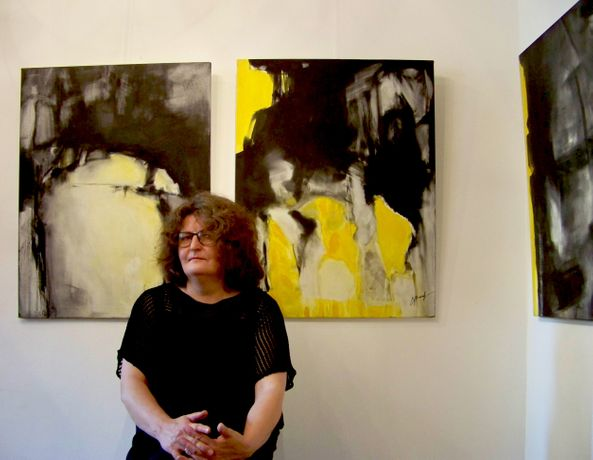 Crazy Yellow - Exhibition of Paintings: Image 0