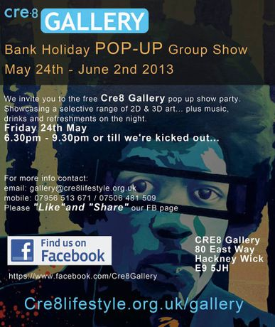 Cre8 Gallery FREE Pop Up Art Show: Image 0