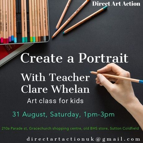 Create a Portrait with Teacher Clare Whelan: Image 0