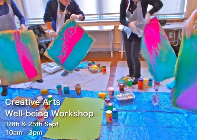 Creative Arts - Well-being workshop: Image 0