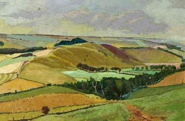 K Illingworth Downland Landscape, 1952 Purchased 1954