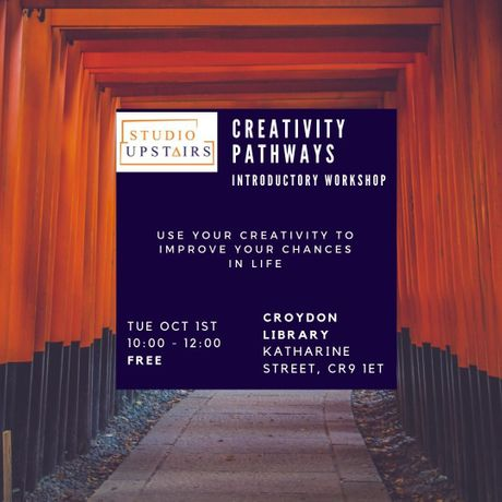 This introductory workshop will help you use your creativity skills to start your own business or get into employment.