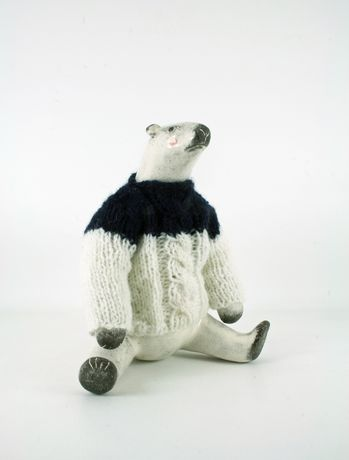 Gwen Vaughan's Polar Bear in Jumper