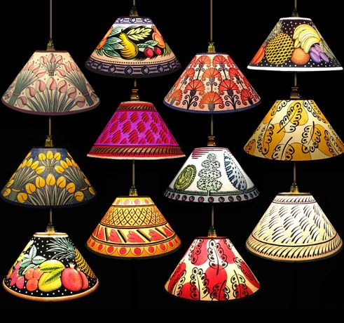 Cressida Bell Lampshade Painting Workshop: Image 0