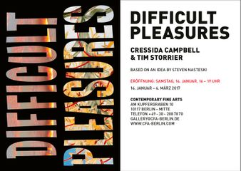 Cressida Campbell & Tim Storrier. Difficult Pleasures
