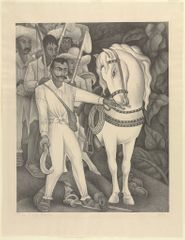 Diego Rivera. Zapata. 1932. The Baltimore Museum of Art: Gift of Blanche Adler. BMA 1932.28.5. © 2017 Diego Rivera/Artists Rights Society (ARS), New York/SOMAAP, Mexico