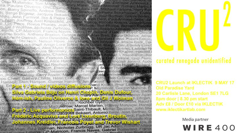 CRU2 curated renegade unidentified