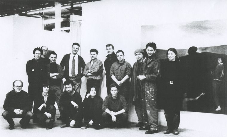 Cubitt Artists at Goods Way, London 1992. Courtesy Cubitt Artists