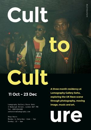 Cult To Culture- Billy Daniel Bunter's Pop-Up Record Shop