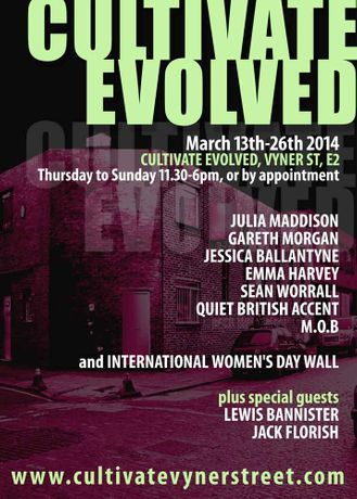 CULTIVATE EVOLVED - 13th - 26th March: Image 0