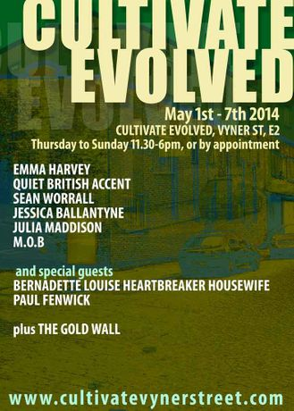 CULTIVATE EVOLVED - 1st May - 7th May: Image 0