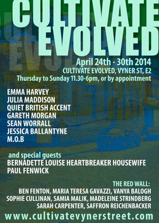 CULTIVATE EVOLVED - 24th April - 30th April: Image 0