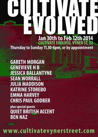 CULTIVATE EVOLVED - 30th January - 12th February: Image 0