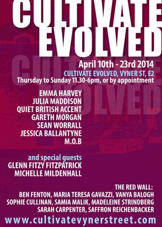 CULTIVATE EVOLVED - The Next Two Weeks - 10th April - 23rd April: Image 0