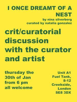Curatorial discussion