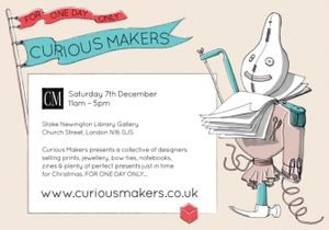 Curious Makers Pop Up Shop