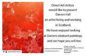 Currently showcasing the work of Scottish Artist Darren Hall