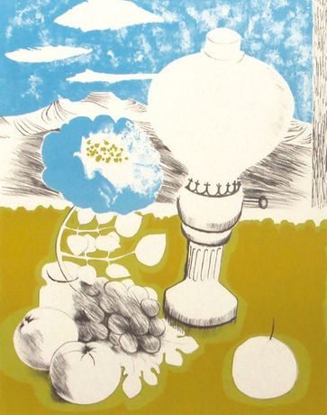 Mary Fedden, Spirit Lamp, lithograph, estimate £300-£400