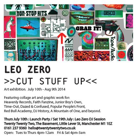 Cut Stuff Up. An exhibition by Leo Zero: Image 0