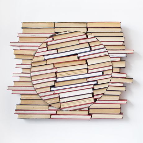 Ewan David Eason. New Horizons. Book sculpture