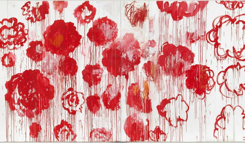 Cy twombly, « Blooming », 2001-2008, collection particulière