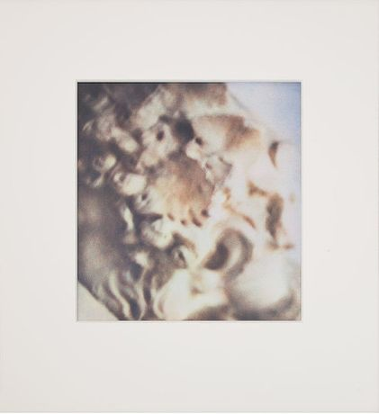 Cy Twombly, Dionysus (Rome), 1984/91, portfolio of one dry-ink photograph, 11 5/8 × 10 7/8 inches (29.5 × 27.5 cm), AP 2/2 © Nicola Del Roscio Foundation.