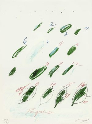 Cy Twombly – Natural History