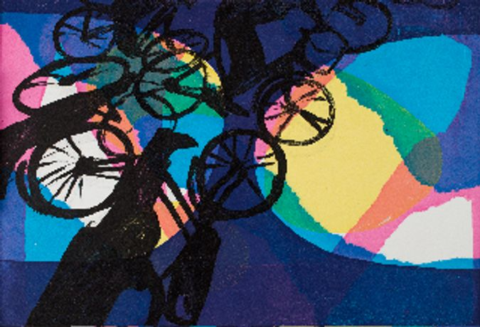 Cycles - work by members of East Finchley Open: Image 0