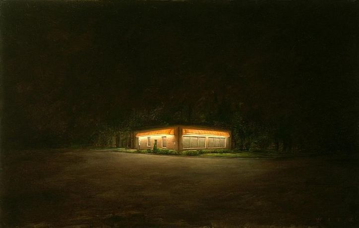 Dan Witz, New Jersey Office Park, 2008