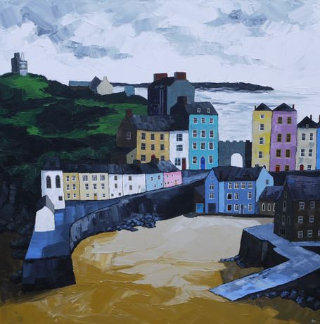 Tenby Harbour, Peter Morgan