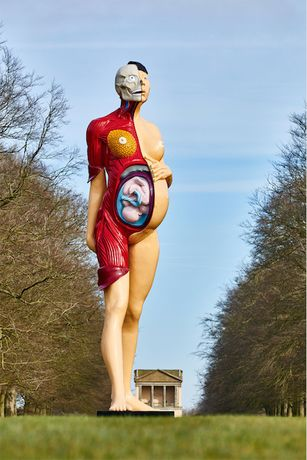 Damien Hirst at Houghton Hall: Colour Space Paintings and Outdoor Sculptures