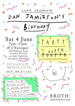 Dan Jamieson's Birthday Party