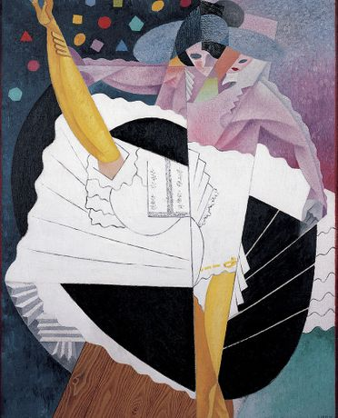 Gino Severini, Danseuse No.5 (Dancer No.5), 1915/16, Oil on Canvas, Pallant House Gallery (Kearley Bequest, through The Art Fund, 1989),