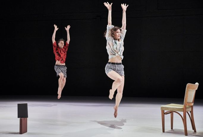 [DANCEROULETTE] Susan Rethorst with Gregory Holt and Gabrielle Revlock: Stealing from Myself: Image 0