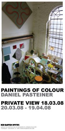 Daniel Pasteiner - Paintings of Colour: Image 0